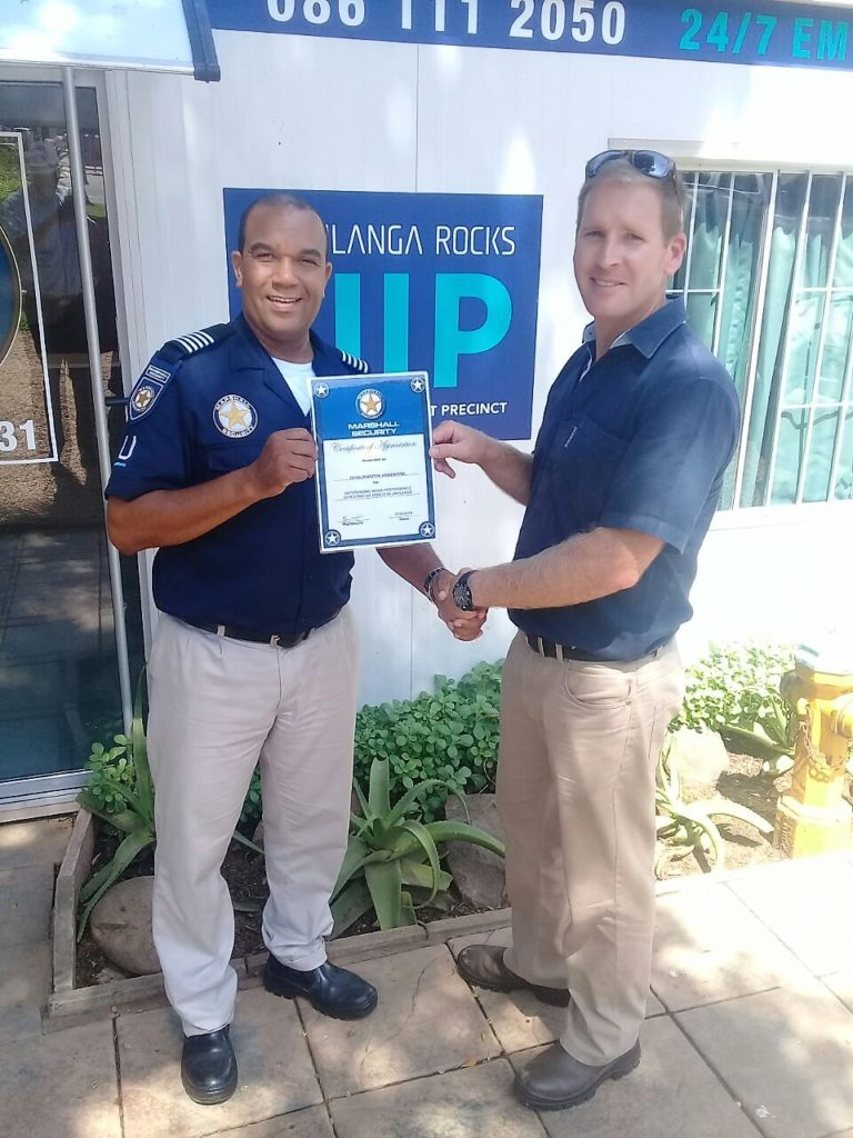 Security Officer Awarded
