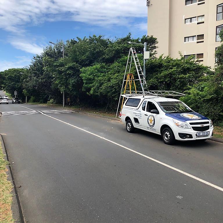 Number plate recognition CCTV cameras installed in uMhlanga Rocks