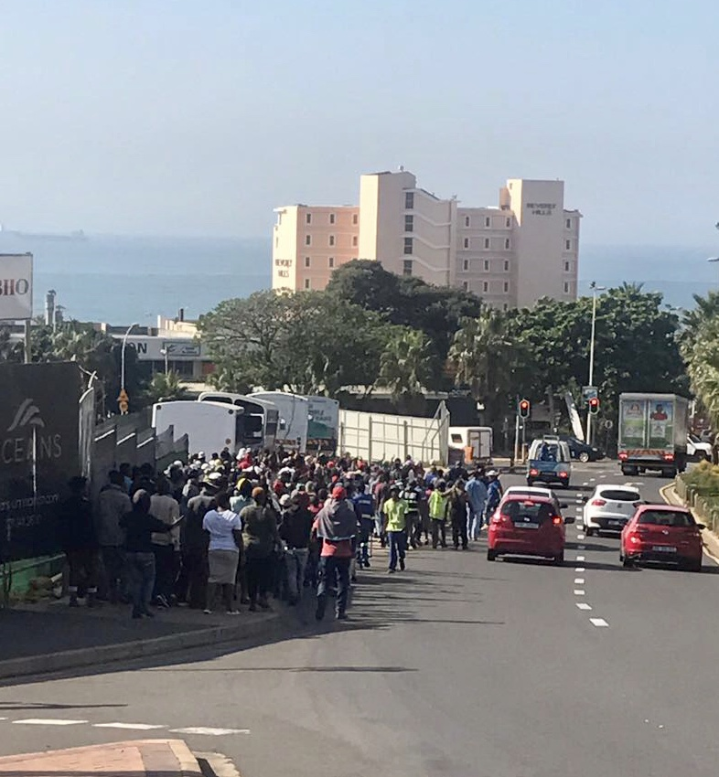 Protest Action Affecting Lagoon Drive