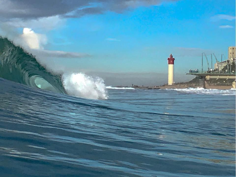 Striking Surf Shot