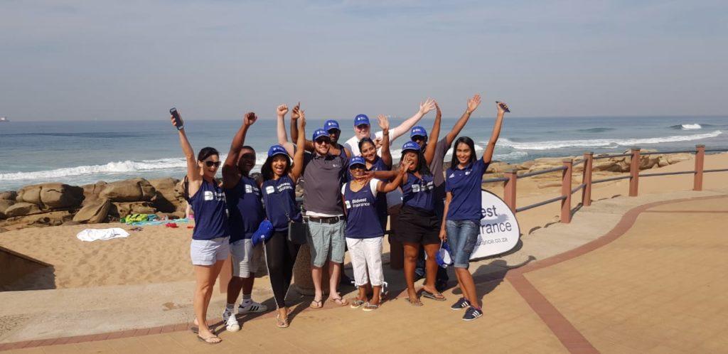 Bidvest Chooses uMhlanga Beaches For Mandela Day